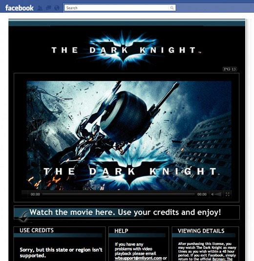 Dark Knight on Facebook