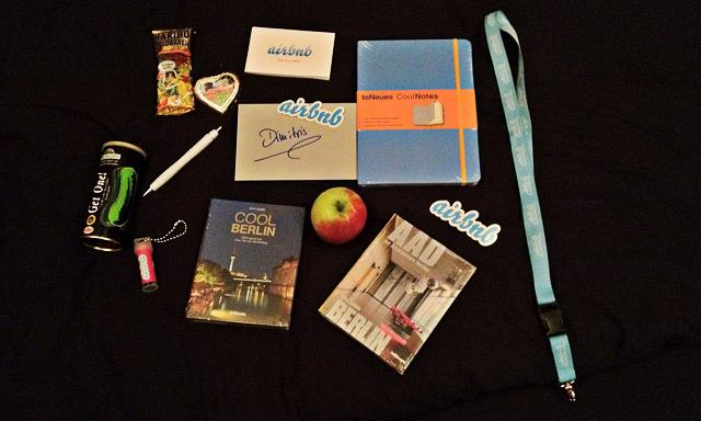Airbnb - NEXT Berlin Giftbag