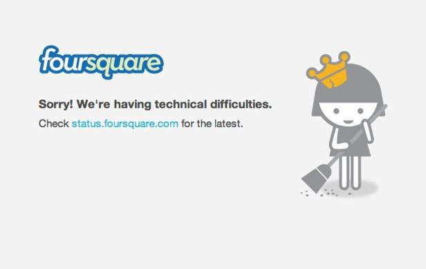 Foursquare Outage