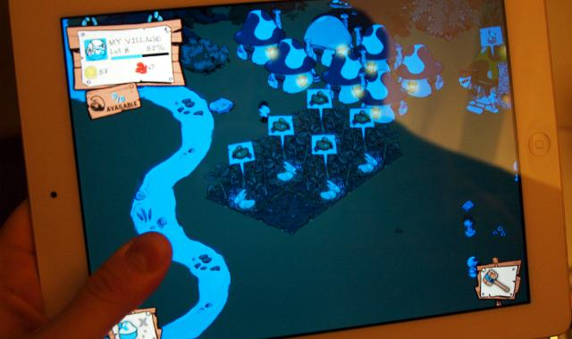 iPad Smurfs Village